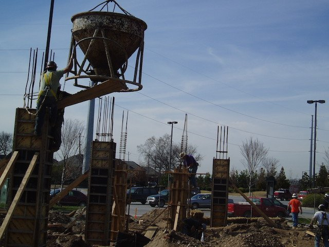 The Blue River Group gets ready to pour the footings of the Northyards Parking Deck