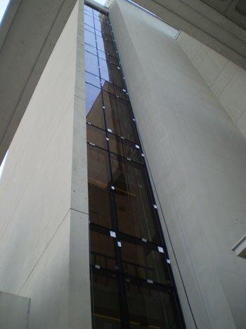 Library Curtainwall Repair